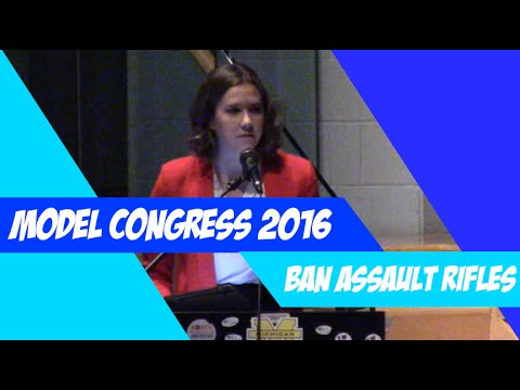 Ban Against Semi-Automatic Assault Rifles Act - AW Model Congress 2016