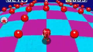 Sonic  y Knuckles Super Knuckles esmeralda No. 7