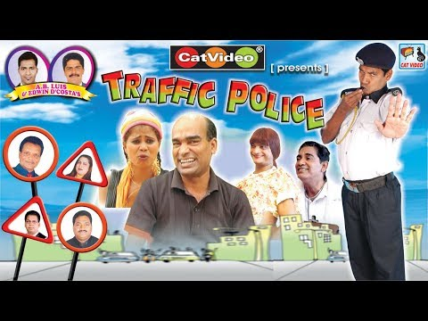 Traffic Police | Superhit Comedy - Konkani Movie | Manfa Music & Movies