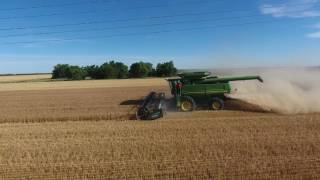 2017 Dossett Farms Wheat Harvest