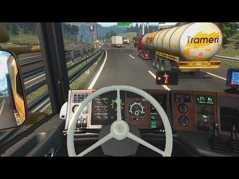 Euro Truck Simulator 2 - Scania 164L | Verona to Zürich