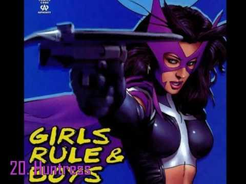 50 of Comics Sexiest Girls