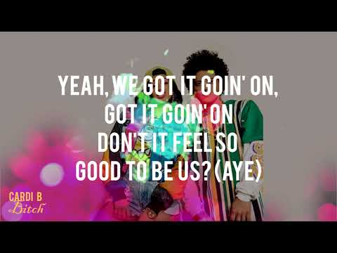 Bruno Mars - Finesse (Remix) [Feat. Cardi B] (Lyrics - Video) HD