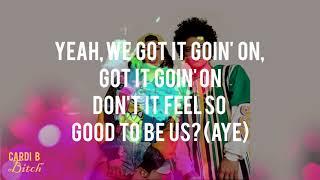 Bruno Mars - Finesse (Remix) [Feat. Cardi B] (Lyrics - Video) HD