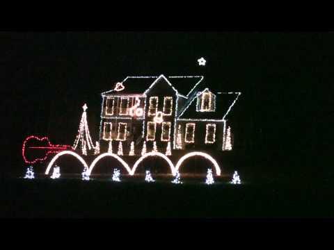 2012 Blue Christmas by Porky Pig, Duane Brown Family Animated Christmas Light Show