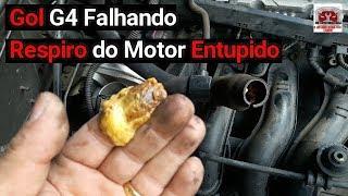 Gol G4  falhando, vazamento de água, respiro do motor entupido - DR Auto Mecânica N°204