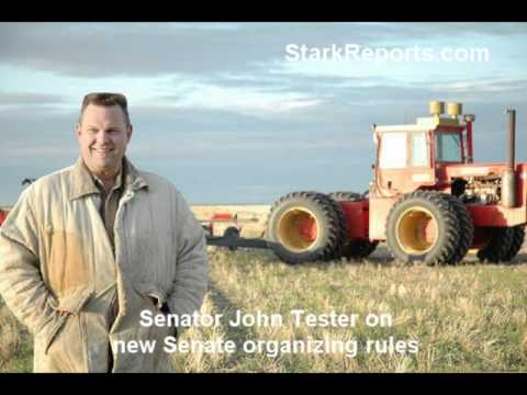 Senator John Tester on new rules for Senate and Democratic Caucus