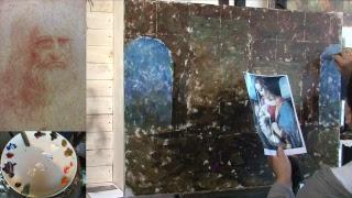 ТЕСТ - Тривульцианский кодекс - мастер класс живописи Елены Ильичевой