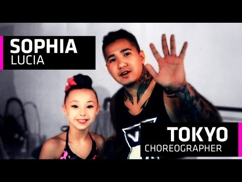 Sophia Lucia Takes Tokyos Dance Class - Guess who took class?
