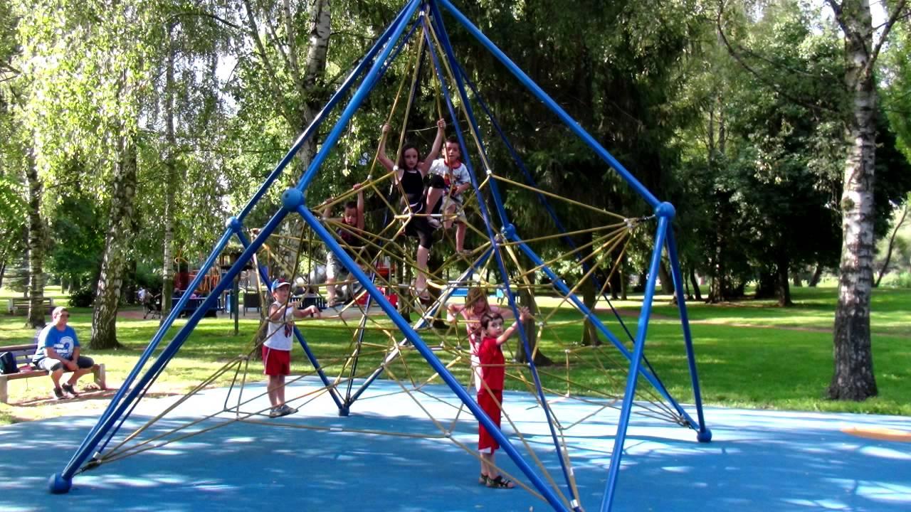 Maizieres Les Metz Parc Brieux Jeux Enfants Youtube