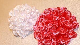 Цветок канзаши - Пышный бант