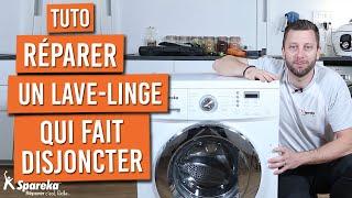 Mon lave-linge fait disjoncter, que faire