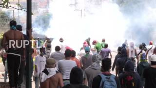 Venezuela: Clashes between police and protesters at Caracas' 'Mother of All Protests'
