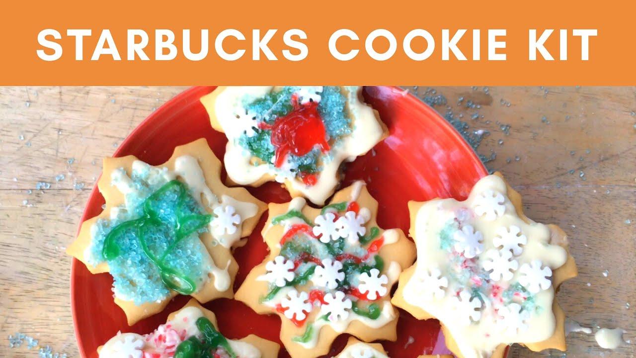 Christmas Cookie Decorating Kit.Starbucks Cookie Decorating Kit Decorating Christmas Cookies With A Toddler