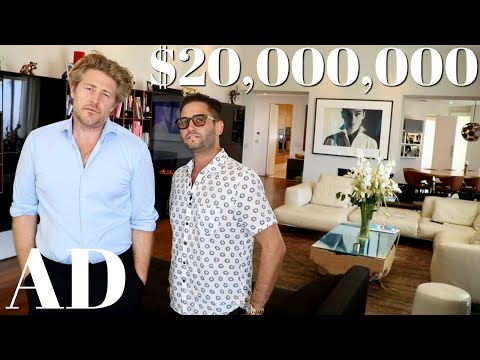 Inside a $20M Hollywood Hills Mansion | Architectural Digest Parody