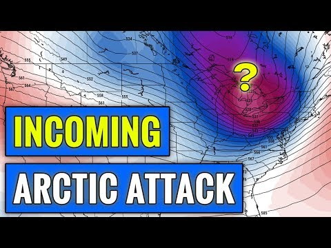 Multiple Arctic Outbreaks Incoming [+Snow Forecast]