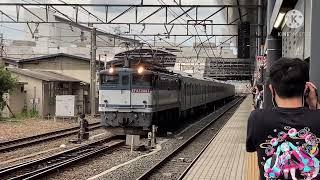 都営6500系第3編成甲種輸送鴫野、桂川、京都にて