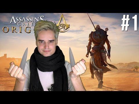 HALLO EGYPTE! - Assassin's Creed: Origins #1 (Livestream 07-11-2017)
