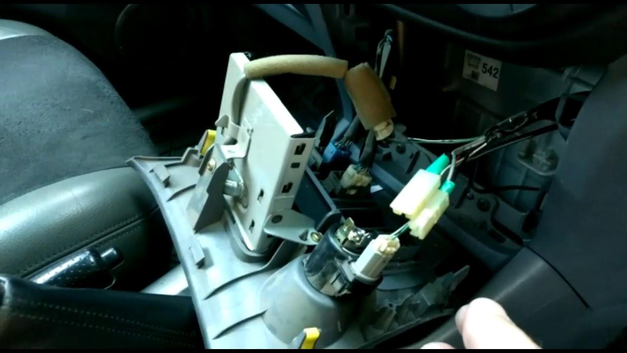 hight resolution of toyota rav4 cigarette lighter panel removal