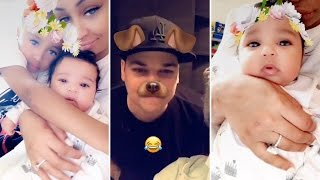 Blac Chyna | Snapchat Videos | January 13th 2017 | ft Dream & Rob Kardashian