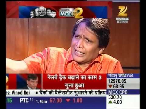 Special Interview with Suresh Prabhu : Modi @ 2 - Part 1