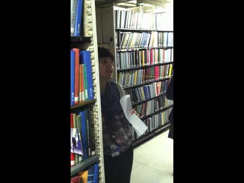 Tour of the New York Public Library stacks