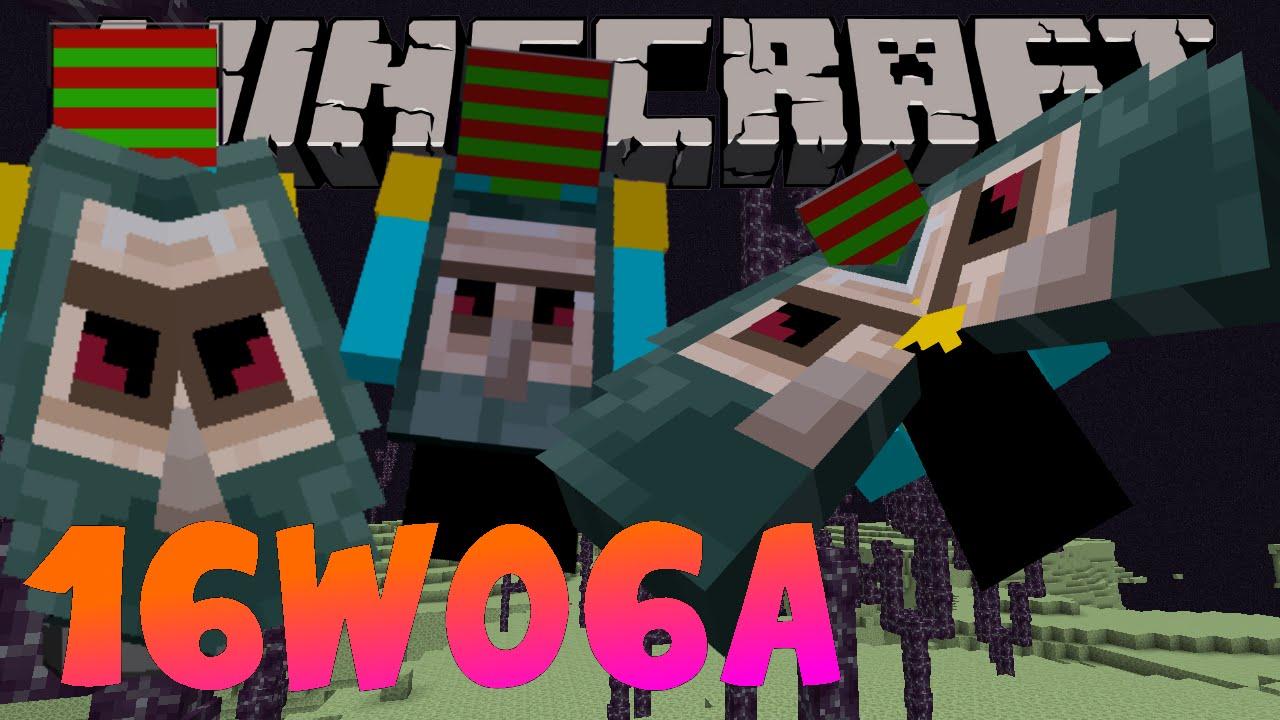 Minecraft Snapshot 16w06a MINECON Elytra cape 1.9 uitbreng ...