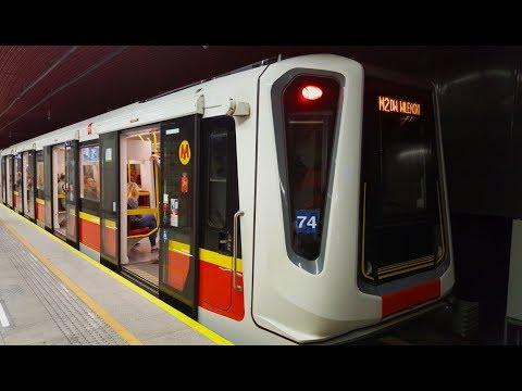 Metro W Warszawie 2017 | Underground In Warsaw 2017 | U-Bahn In Warschau 2017