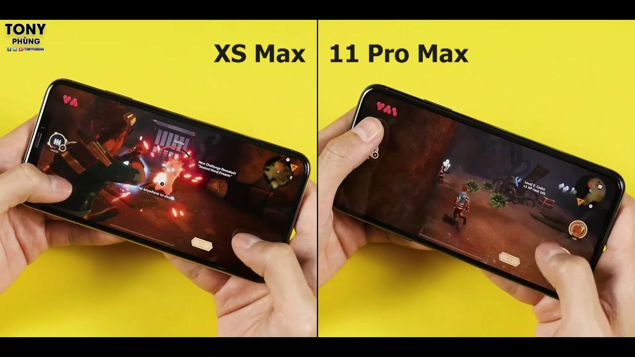 Hiệu năng của iPhone 11 Pro Max và iPhone Xs Max - Bạn sẽ bất ngờ đó!