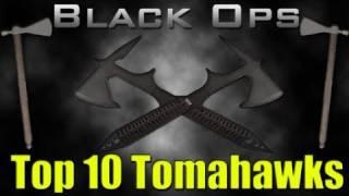Black Ops Top 10 Tomahawk Kills!