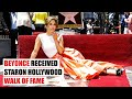 Beyonce received star on Hollywood Walk of Fame