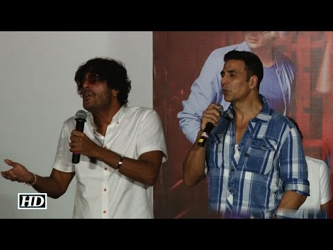 Watch out! Akshay pulls Chunky's leg, says 'I am joking' Mp3