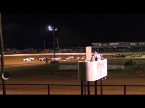 STREET STOCK FEATURE WHYNOT MOTORSPORTS PARK 41115