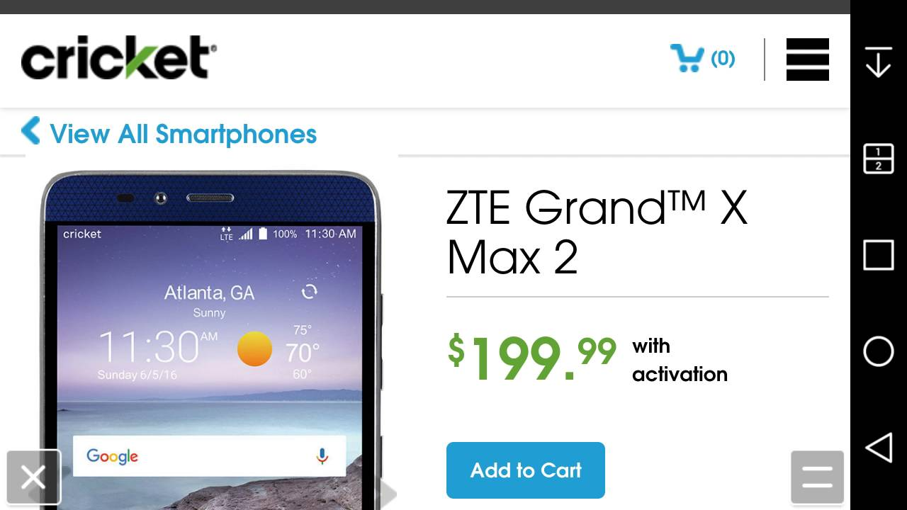 category zte grand x max 2 youtube can