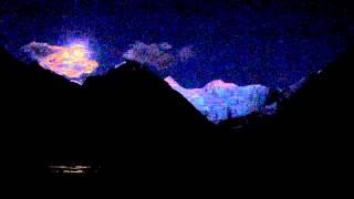 Белуха ночью при луне.MOV<