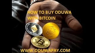 Using Oduwa Pay to buy Oduwa Coin with Blockchain Wallet