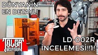 Reçine ile 3d baskı almak? - Creality LD-002R 3D Printer İncelemesi