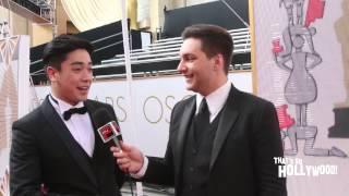 "Chris Trondsen Talks To Thai TV Host Keerati ""Kee"" Supadirekkul About The Oscars 2015 Experience"