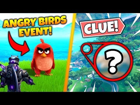*NEW* ANGRY BIRDS EVENT CROSSOVER?! Fortnite Season 9 Update News!