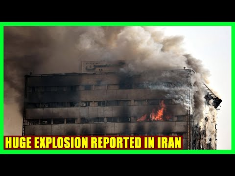 Explosion reported at office building in Tehran