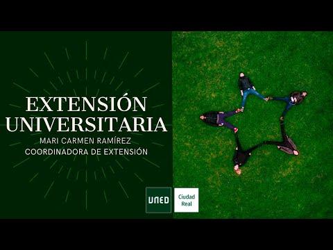 EXTENSIÓN UNIVERSITARIA (Mari Carmen Ramírez)