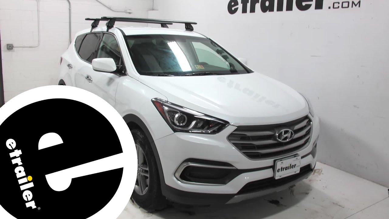 Rhino Rack Roof Rack Review - 2017 Hyundai Santa Fe ...