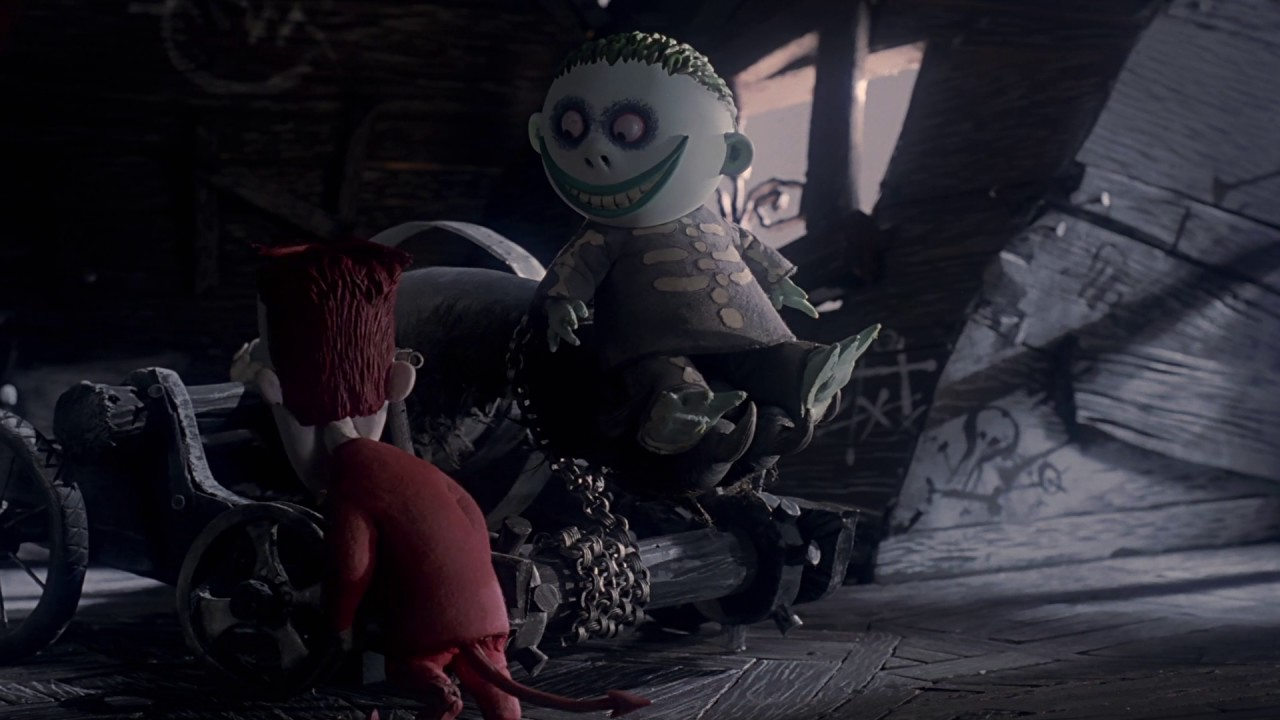 The Nightmare Before Christmas - Kidnap The Sandy Claws (HD) - YouTube