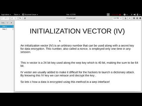 What is Initialization Vector(IV)?How Hackers use to Exploit the WEP  interface!