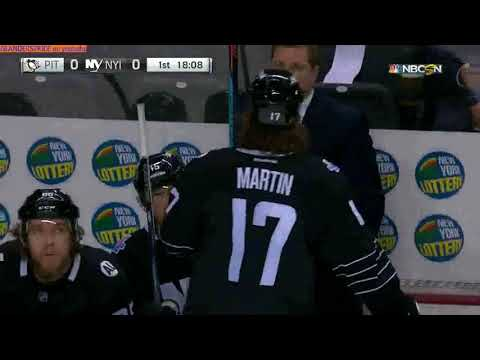 March 8 2016 Penguins at Islanders NBCSN