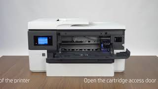 HP Officejet Pro 7720 (A3) Product Unboxing