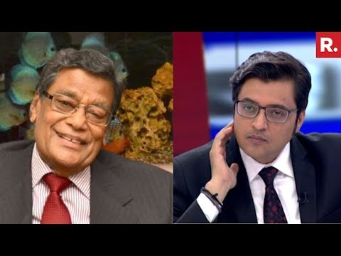 AG KK Venugopal Speaks To Arnab Goswami Over #JudgesAtWar