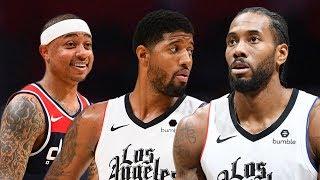 LA Clippers vs Washington Wizards Full Game Highlights   December 1, 2019-20 NBA Season