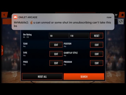 NBA LIVE MOBILE SNIPING AND MAKING COINS LIVE! chill stream come thru