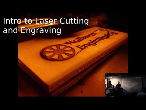 Laser Cutting with a K40 Laser Cutter - Demo Night